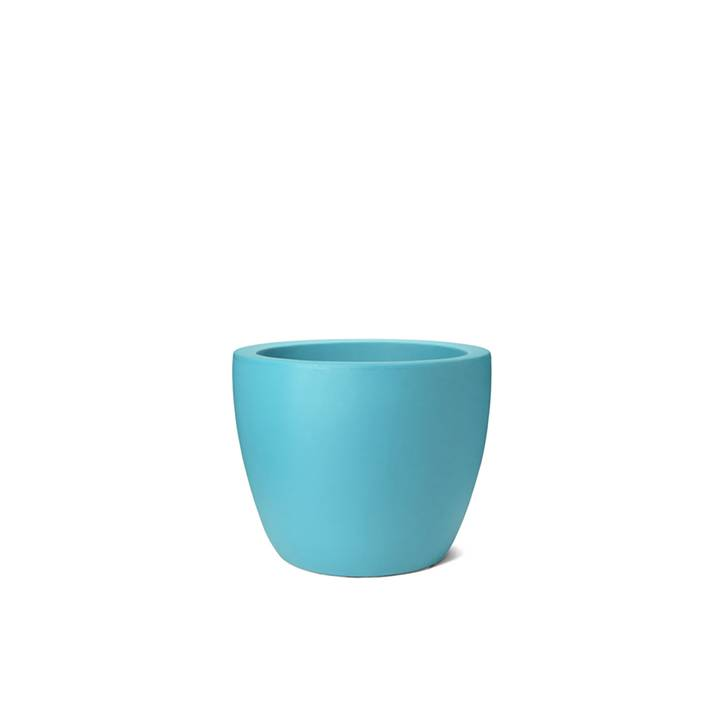 Ikala Turquoise Bloempot Kylie H40