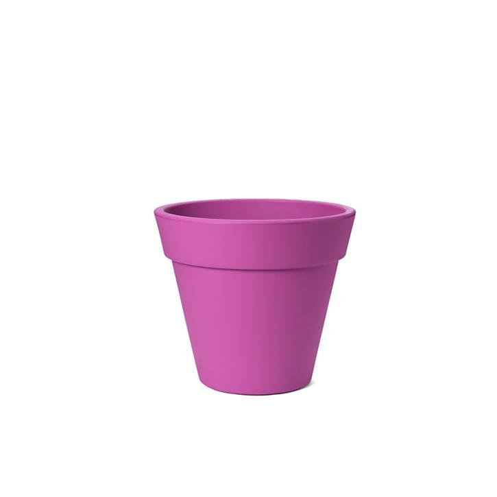 Ikala Roze kunststof bloempot Julia H50