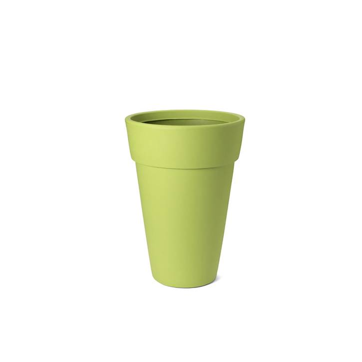 Ikala Hoge groene design bloempot Lucy H65