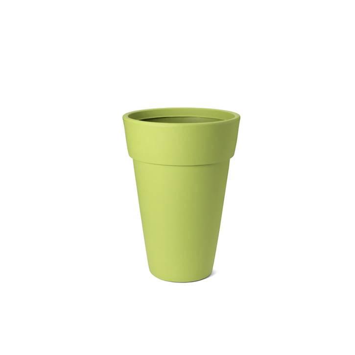 Ikala Hoge groene design bloempot Lucy H50