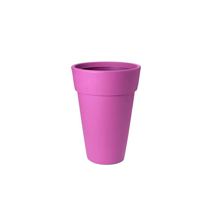 Ikala Hoge roze design bloempot Lucy H50
