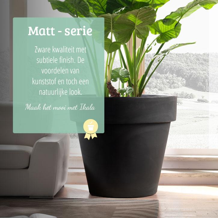Super Plantenbakken 'Matt' | Binnen & Buiten | Rechthoekig tot XXL - Ikala #ZU27