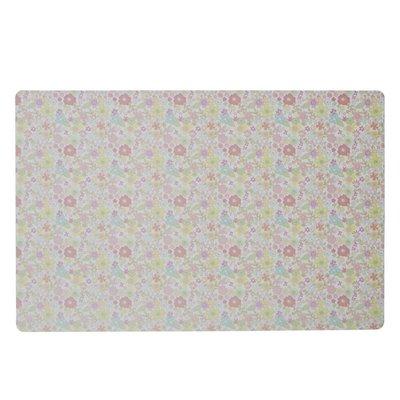 Rice Plastic placemat klein met multi flower print