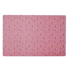 Rice placemat flower print
