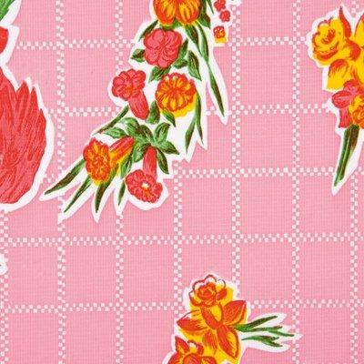 Kitsch Kitchen Plakfolie Rosedal Pink 45x200 cm