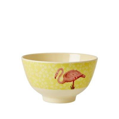 Rice schaaltje Melamine met flamingo van het merk Rice