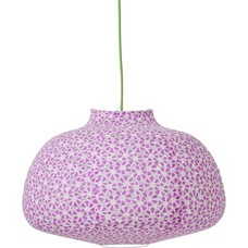 Lamp Shade in Lavender and white flower