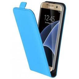 Mobiparts Mobiparts Premium Flip Case Samsung Galaxy S7 Light Blue