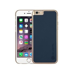 Pipetto Pipetto Saffiano Snap Navy-Blue iPhone 6/6S