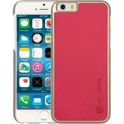 Pipetto Pipetto Saffiano Snap Pink iPhone 6/6S