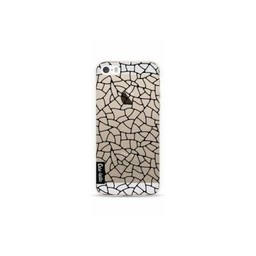 Casetastic Casetastic Softcover Apple iPhone 5/5S/SE Transparant Mosaic