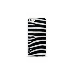 Casetastic Casetastic Softcover Apple iPhone 5/5S/SE Zebra