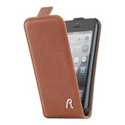 Replay Replay Flip Case For iPhone 5/5S/SE Cognac