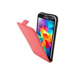 Mobiparts Mobiparts Premium Flip Case Samsung Galaxy S5/S5 Plus/S5 Neo Peach Pink