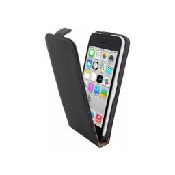 Mobiparts Mobiparts Premium Flip Case Apple iPhone 5C Black