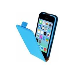 Mobiparts Goedkope mobiele hoesjes iPhone 5ciphone 5c hoesjes Mobiparts Premium Flip Case Apple iPhone 5C Light Blue