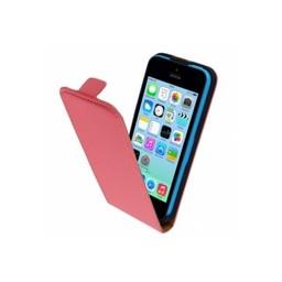 Mobiparts iphone 5c hoesje Mobiparts Premium Flip Case Apple iPhone 5C Peach Pink