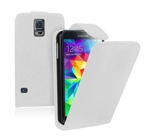 tui Portefeuille Blanc Pour Samsung Galaxy (plus) / Neo N1ENG