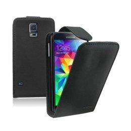 Galaxy S5 / S5 Plus / S5 Neo Flip Wallet Case Zwart