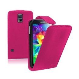 Galaxy S5 / S5 Plus / S5 Neo Flip Wallet Case Roze