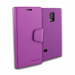 GOOSPERY Mercury Sonata Wallet Case voor Galaxy S5 / S5 Plus / S5 Neo - Paars
