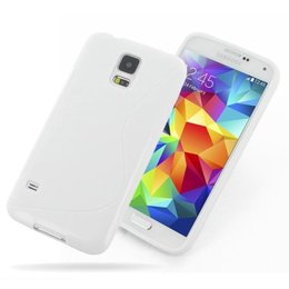 Galaxy S5 / S5 Plus / S5 Neo S Line TPU Case Wit