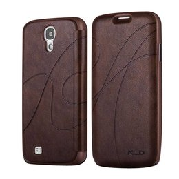 Kalaideng Galaxy S4 Flip Wallet Case Bruin