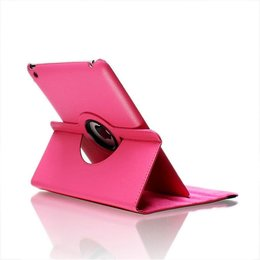 Apple iPad 360 Rotating Case Donker Roze