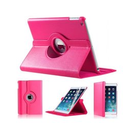Apple iPad Air (iPad 5) 360 Rotating Case Donker Roze