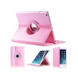 Apple iPad Air (iPad 5) 360 Rotating Case Licht Roze