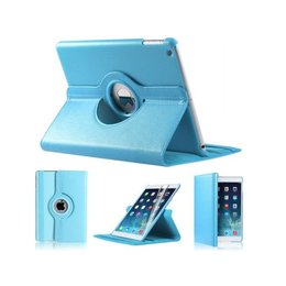 Apple iPad Air (iPad 5) 360 Rotating Case Licht Blauw