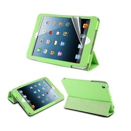 Apple iPad Mini Hot Flip Tripple Folio Case Groen
