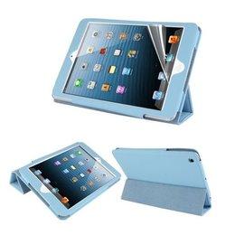 Apple iPad Mini Hot Flip Tripple Folio Case Blauw