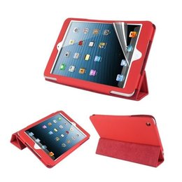 Apple iPad Mini Hot Flip Tripple Folio Case Rood