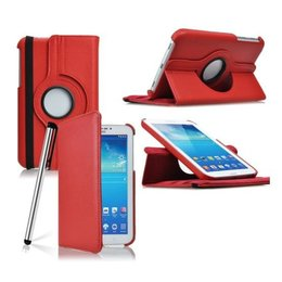 Samsung Galaxy Tab 4 7.0 Rotating Case Rood