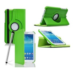 Samsung Galaxy Tab 4 7.0 Rotating Case Groen