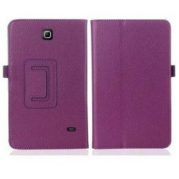 Samsung Galaxy Tab 4 7.0 Flip Stand Case Paars