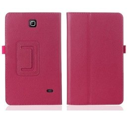 Samsung Galaxy Tab 4 7.0 Flip Stand Case Donker Roze