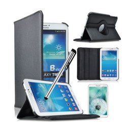 Samsung Galaxy Tab 4 8.0 Rotating Case Zwart