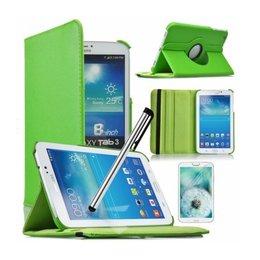 Samsung Galaxy Tab 4 8.0 Rotating Case Groen