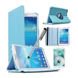 Samsung Galaxy Tab 4 8.0 Rotating Case Blauw