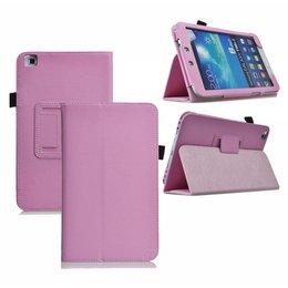 Samsung Galaxy Tab 4 8.0 Flip Folio Case Roze
