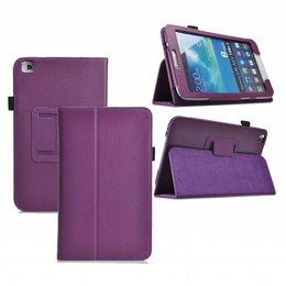 Samsung Galaxy Tab 4 8.0 Flip Folio Case Paars