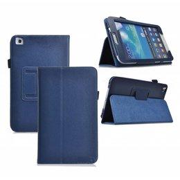 Samsung Galaxy Tab 4 8.0 Flip Folio Case Marine Blauw