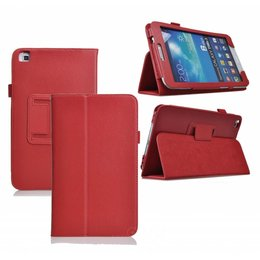 Samsung Galaxy Tab 4 8.0 Flip Folio Case Rood