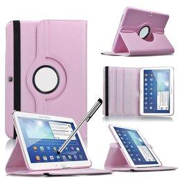 Samsung Galaxy Tab 3 10.1 Rotating Case Roze