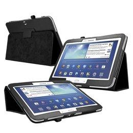 Samsung Galaxy Tab 3 10.1 Flip Folio Case Zwart