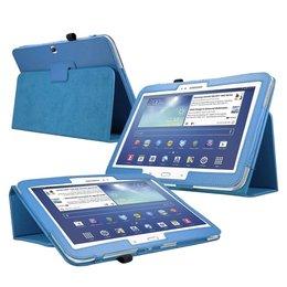 Samsung Galaxy Tab 3 10.1 Flip Folio Case Blauw