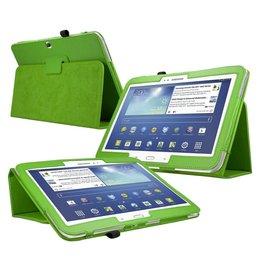 Samsung Galaxy Tab 3 10.1 Flip Folio Case Groen