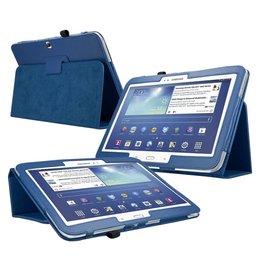 Samsung Galaxy Tab 3 10.1 Flip Folio Case Marine Blauw